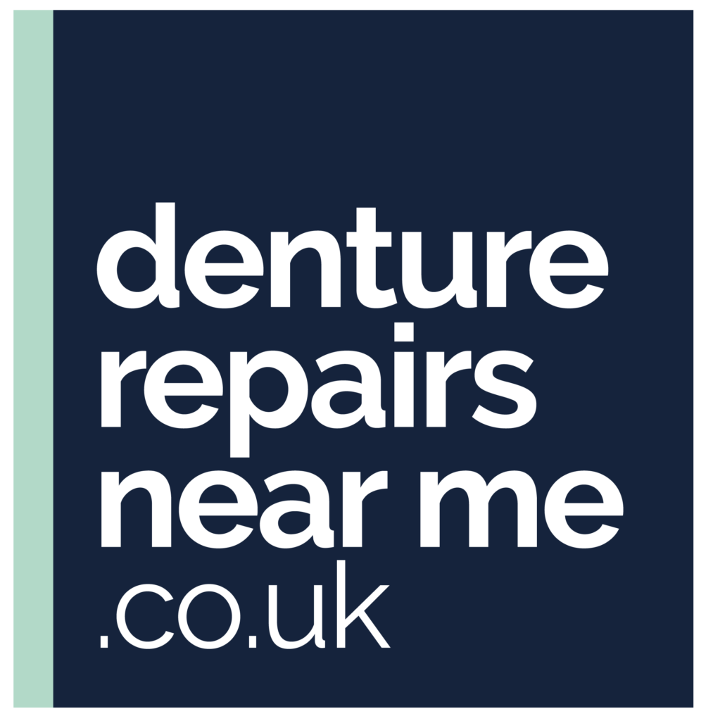 full size blue/green denture repairs near me logo